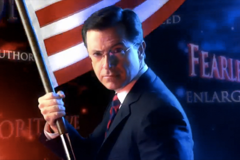 Post image for Bulletin: I'm on the Colbert Report on April 4th!